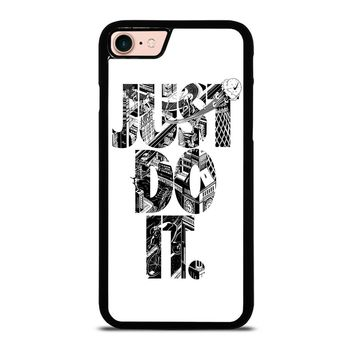 NIKE JUST DO IT TYPE iPhone 8 Case