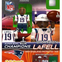 OYO Super Bowl 49 Champions New England Patriots Brandon Lafell Limited Edition Minifigure