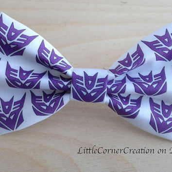 Transformers Inspired Hair Bow ... OR ... Bow tie