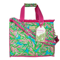 Lilly Pulitzer Insulated Beach Cooler-In The Bungalows