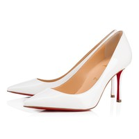 Christian Louboutin Cl Decoltish Latte Patent Leather 17s Bridal 1170031wha8 -