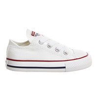 Converse All Star Low Infant Shoes White - Unisex