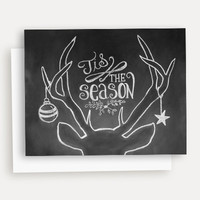 Tis' the Season - A2 Note Card