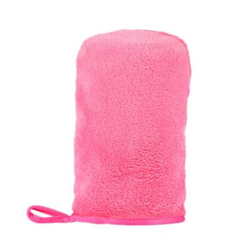 Microfiber MakeUp Removal Facial Cloth Gloves Towel Beauty Skin face Washcloth New