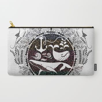 Ocean Galaxy Carry-All Pouch by Famenxt | Society6