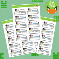 Wild Chore Appeared Chore Cleaning Pokemon Clean Sticker Set - Planner Stickers - Planner Decorations - Kikki-K & Erin Condren Stickers