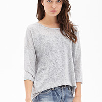 LOVE 21 Loose-Knit Slouchy Sweater