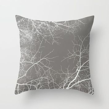 Branches Impressions I Throw Pillow by ARTbyJWP