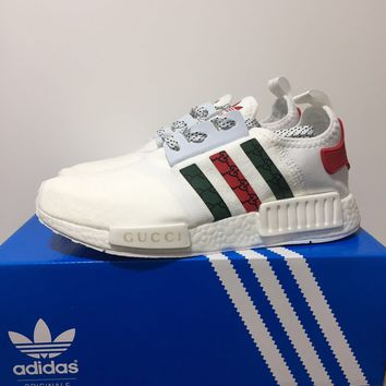 Gucci x Adidas NMD Boost - White/Red