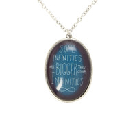 The Fault In Our Stars Some Infinities Necklace