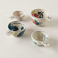 Garden Sketch Measuring Cups by Molly Hatch Multi One Size House & Home