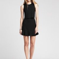 Banana Republic Womens Crepe Cutout Dress