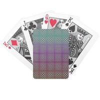 Abstract Squares 3 Bicycle Playing Cards