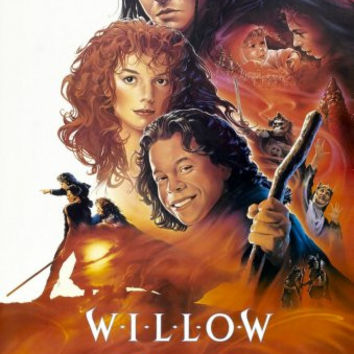 "Willow Movie Poster 16""x24"""