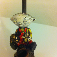 Tobacco Hand Made Pipe, Stewie Design