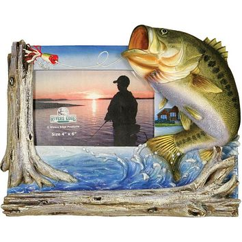 Fishing Frames - Bass Picture Frame