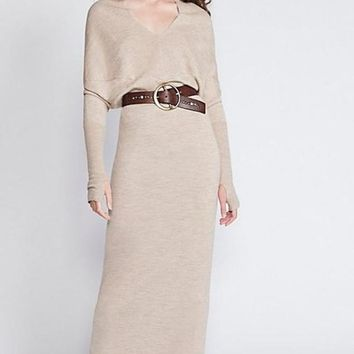 Nightingale Maxi Sweater Dress