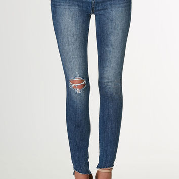 New Angle Mid Rise Skinnies
