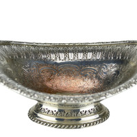 1948 Silver Plated Bowl English Penwortham Golf Club Trophy