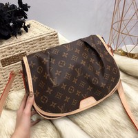 Louis Vuitton LV Monogram Menilmontant MM Messenger Crossbody Bag