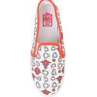 Disney Big Hero 6 Baymax Slip-On Shoes