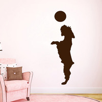 Dog Wall Decal Pets Vinyl Sticker Puppy Playing With A Ball Pet Shop Decor Home Interior Animals Art Mural Girl Boy Nursery Room Decor KG918