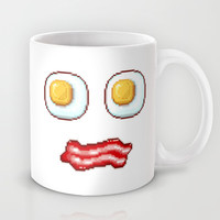 What's up, Egg Face! Mug by Alessandro Aru