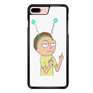 Rick And Morty Morty Middle Finger 2 iPhone 7 Plus Case