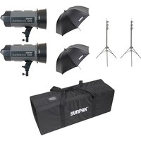 Sunpak - Platinum Plus 2000W Monolight Kit