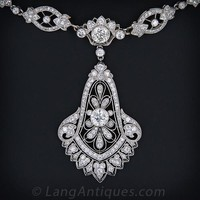 Cartier Diamond and Platinum Necklace c.1929 - 90-1-2888 - Lang Antiques