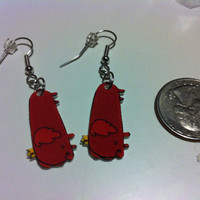 Hot Dog Princess Earrings