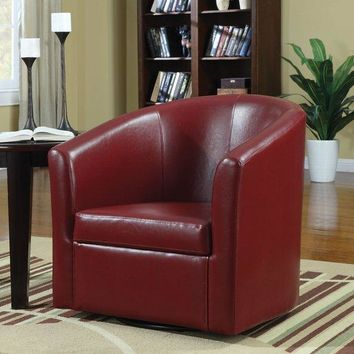 Red Barrel Back Swivel Accent Chair