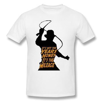 Classic Movie Indiana Jones Raiders of the Lost Ark T Shirt Awesome Graphic Print Vintage T-shirt