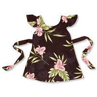 midnight hawaiian girl hula dress