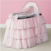 Shop Sherbert Bassinet Set From Baby Doll - LuxuryLamb.Com