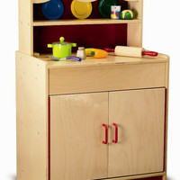 Whitney Brothers Preschool Hutch Cabinet WB0710