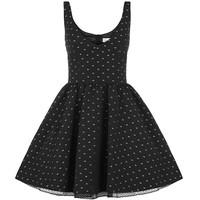 Red Valentino Flower Dot Prom Vestido | Harrods