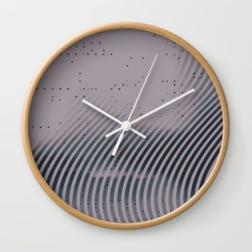 m-0125 Wall Clock by DuckyB