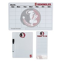 Florida State Seminoles Dry Erase Board Set (Fsu Team)