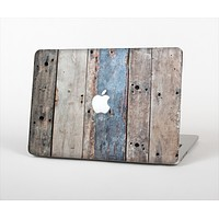 "The Multicolored Tinted Wooden Planks Skin Set for the Apple MacBook Pro 13"" with Retina Display"