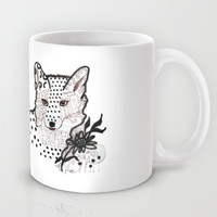 Fox Hope Mug by Robin Maria Pedrero
