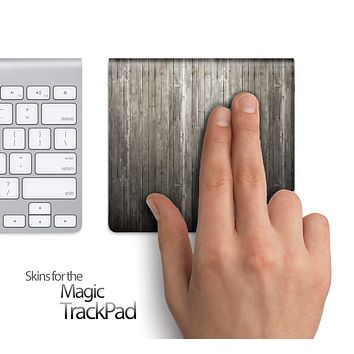 Rustic Wood Skin for the Apple Magic Trackpad