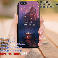 I See The Light Rapunzel Quote iPhone 6s 6 6s+ 5c 5s Cases Samsung Galaxy s5 s6 Edge+ NOTE 5 4 3 #cartoon #animated #disney #tangled dl8