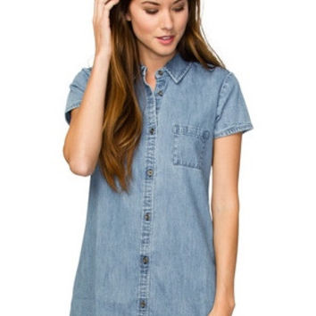 ELEMENT - Zase Denim Dress | Indigo