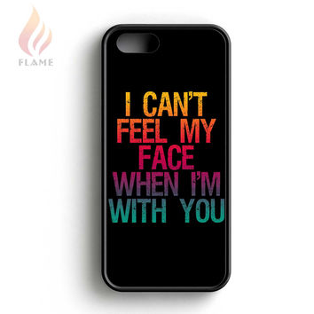 The Weeknd Can Not Feel My Face iPhone 5 Case iPhone 5s Case iPhone 5c Case