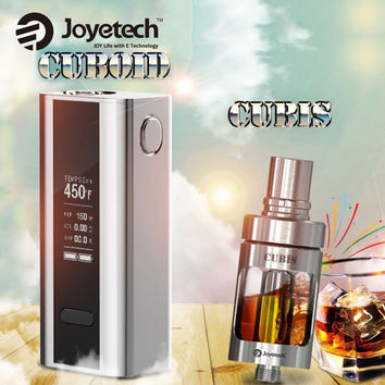 Original 150W Joyetech Cuboid TC Mod w/ Cubis Tank 3.5ml Electronic Cigarette Box Mod Vaping Kit vs Eleaf istick Pico E-cig