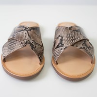 Gretchen Sandals - Snakeskin