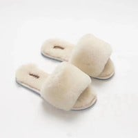 UGG Wool in one Word Drag Slippers
