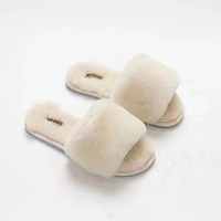 UGG Wool in one Word Drag Slippers-3