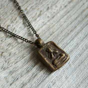 Buddha Necklace  » Buddha Jewelry » Buddha Pendant » Men's Necklace » Men's Jewelry » Gifts for Men » Yoga Necklace » Men's Buddha